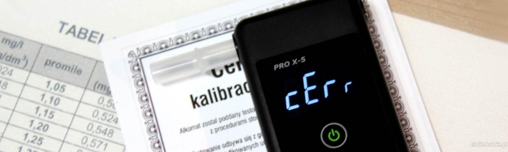 kalibracja alkomatu pro x-5 plus, legalizacja alkomatu